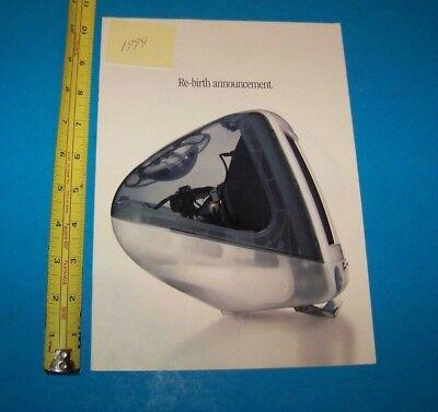 Apple iMac  Print Advertisement    Vintage 1999 Apple  iMac Ad