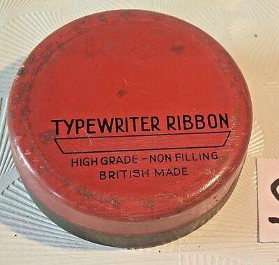 C99 Boite en métal Typewriter Ribbon England
