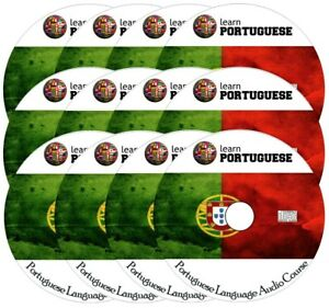 Learn to speak PORTUGUESE - Complete Language Training Course on 12 AUDIO CDs