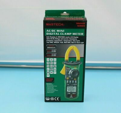Mastech Clamp On Multimeter Ms2108 True Rms Acdc