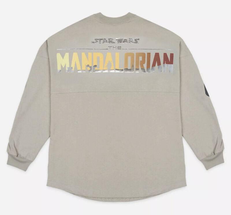 NEW Disney Star Wars The Mandalorian 2020 Gray Spirit Jersey Adult MEDIUM