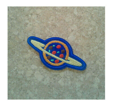 Planet - Pizza - Buzz Lightyear - Movie - Astronaut - Embroidered Iron On Patch -