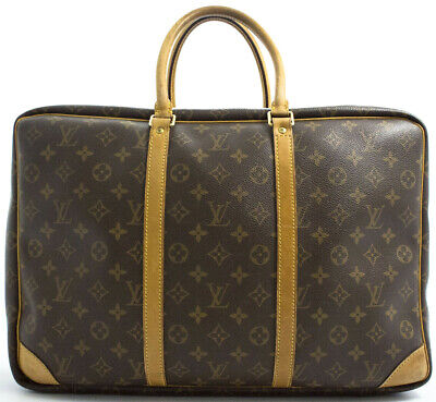 Louis Vuitton Duffle Bag (LOUIS VUITTON SIRIUS 45 REISETASCHE TRAVEL BAG WEEKENDER KEEPALL DUFFLE ALIZE AA)