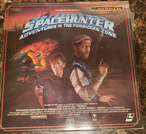 Laserdisc 1983 Spacehunter Adventures in the Forbidden Zone Molly Ringwald 13