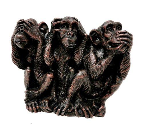 See, Hear & Speak no Evil - Vintage Monkeys                               WY130