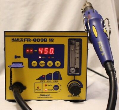 Hakko Smd Rework Station Fr-803b With Tip Wnew Heating Element Installed