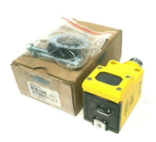 NEW BANNER ENGINEERING Q45VR2LPQ PHOTOELECTRIC SENSOR 37001
