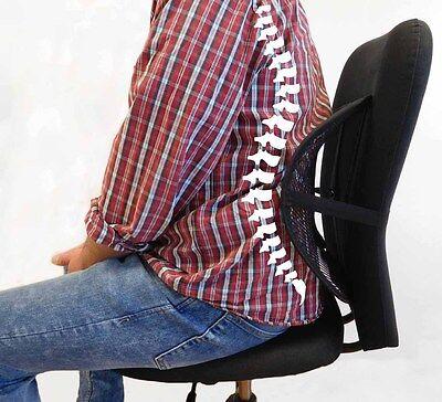 Rückenstütze Lordosestütze NEU NEU auf Gewicht einstellbar Stuhl Autositz