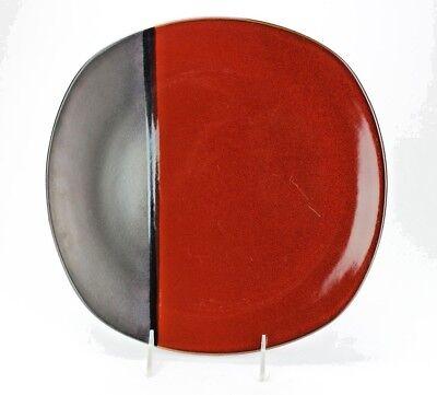 Gibson Elite Volterra Soft Square Dinner Plates, Set of 4 Soft Square Dinner Plate