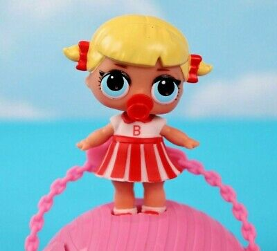LOL Surprise CHEER CAPTAIN Series 1 VHTF Cheerleader Baby Doll New w Sealed Ball