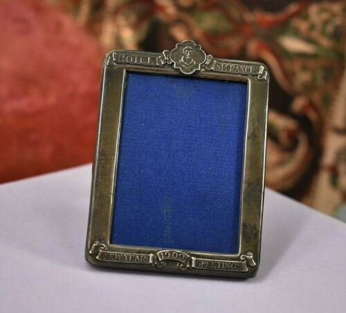 Antique sterling silver Tabletop picture frame 1909 St. Francis Hotel