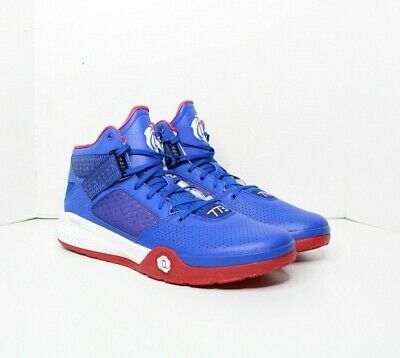 Adidas D Rose 773 IV Blue Red Basketball Shoe New Men's Size 12.5