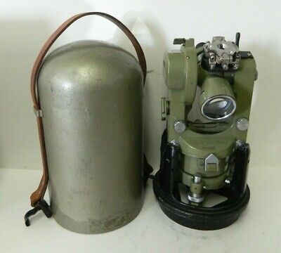 Wild Heerbrugg Theodolite Switzerland T16 Survey Equipment T16-135945 Vintage