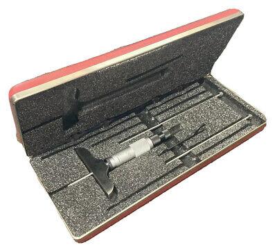 Starrett 0-3 Depth Micrometer 440z-3rl Machinist Tool Maker Inspection Gage