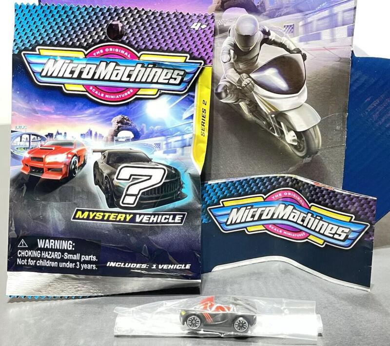 Micro Machines 2020 2021 Mystery Vehicle Blind Bags Series 2 - SENNER - #0093 93
