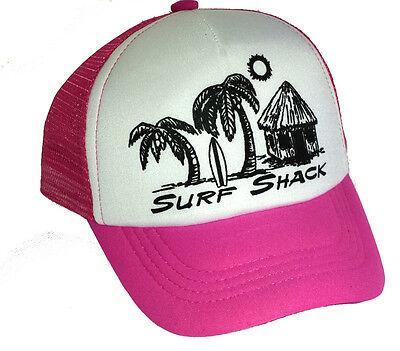 kid s surf shack snapback mesh trucker