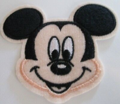 MICKEY MOUSE EMBROIDERED PATCH SEW/IRON ON BRAND NEW ~USA SELLER~