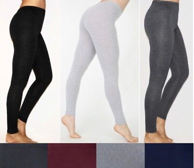 NEW Plus Size Cotton/Spandex Long Basic Leggings and Capri Leggings- - Plus Size Spandex Leggings