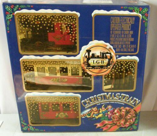 Lehmann LGB 21540 Christmas Train Set w/Box The Big Train