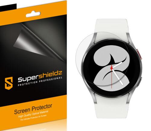 6X Supershieldz Clear Screen Protector Saver for Samsung Galaxy Watch 4 (40mm)