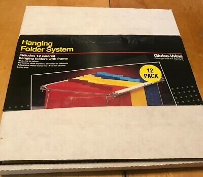 Globe-weis Hanging File Folder System Wframe 12 Yellow Hanging Folders Tabs