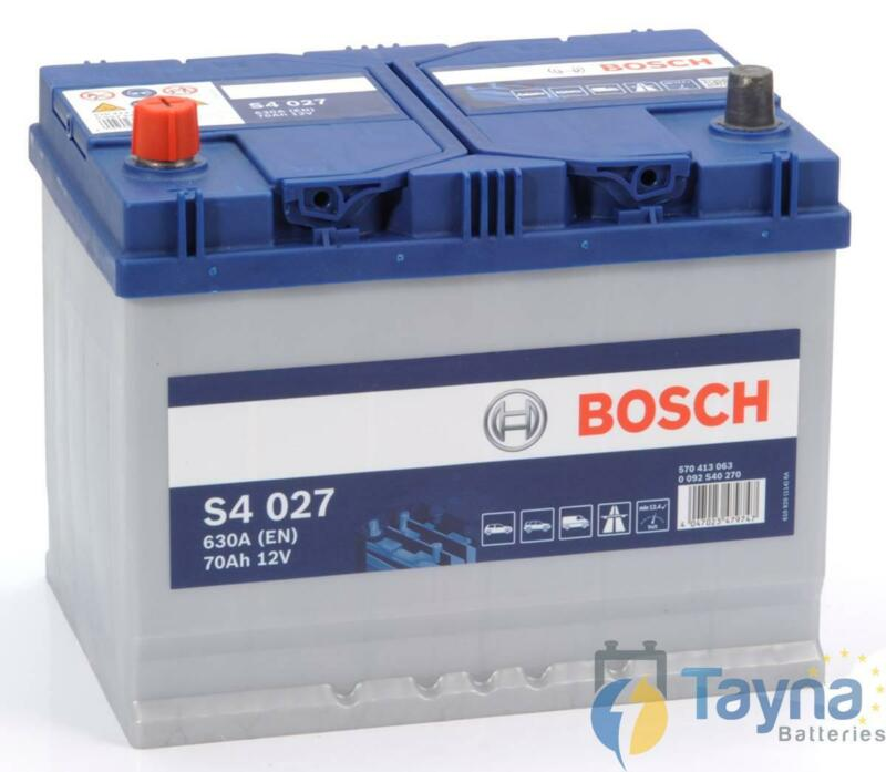 069 Sealed Heavy Duty Bosch Car Van Battery 630CCA 4 Years Wty 12V 70Ah S4027