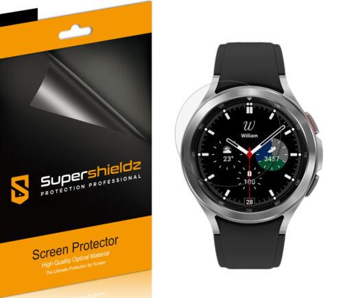 6X Supershieldz Clear Screen Protector for Samsung Galaxy Watch 4 Classic (46mm)