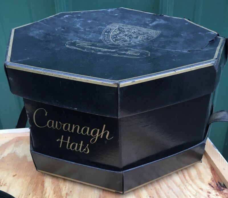 Vintage Cavanagh Hat Box With Strap