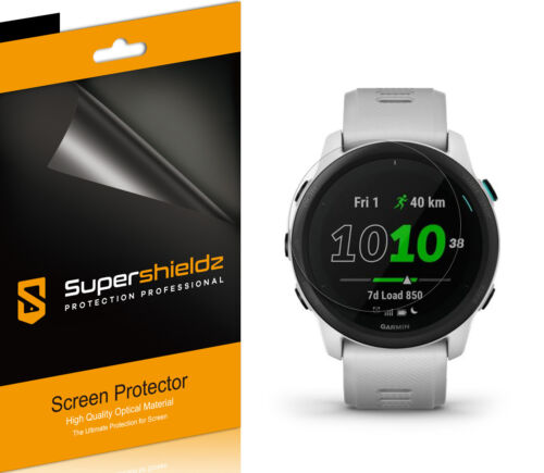 6X Supershieldz Clear Screen Protector Saver for Garmin Forerunner 745