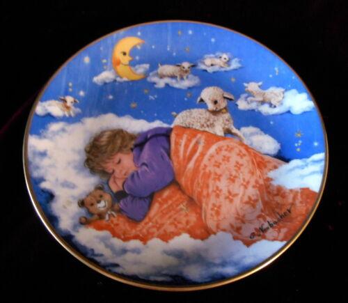 """Schlaf, Kindlein, Schlaf"" SLEEP BABY SLEEP Collector Plate Gerda Neubacher 1985"