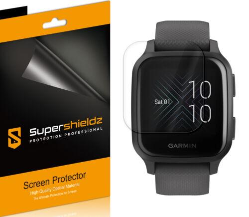 3X Supershieldz Clear Full Coverage Screen Protector for Garmin Venu Sq