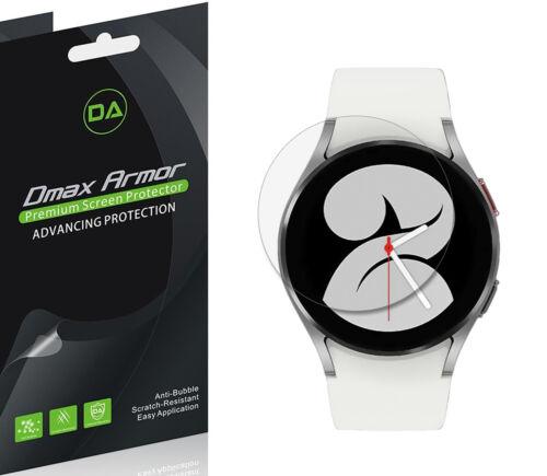 6x Dmax Armor HD Clear Screen Protector Shield for Samsung Galaxy Watch 4 (40mm)