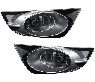 2009-2010 Honda FIT Sport Fog Light Lamp Assembly PAIR Left Side + Right Side