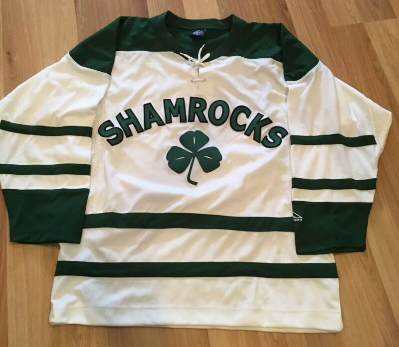 Mens Hockey Jersey Shamrocks Irish St Patricks Day Size Small