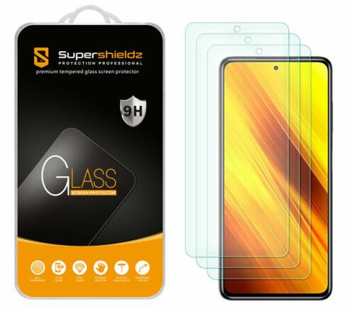 3X Tempered Glass Screen Protector For Xiaomi Poco X3 /Redmi Poco X3 NFC US 2021 - $8.68