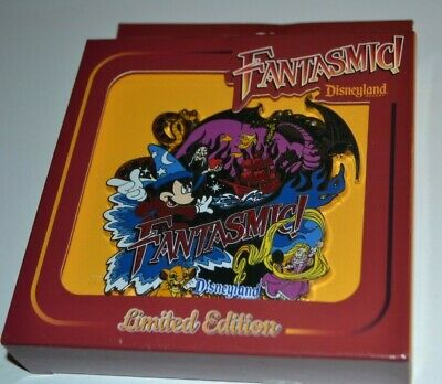 Disney DLR Fantasmic 2017 Jumbo Pin 122859 Limited Edition 1000