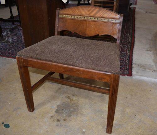Stanley Furniture Art Deco Waterfall Style Bedroom Vanity Chair, Bench