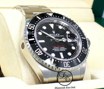 Rolex Sea-Dweller 43mm 126600 Stahl Taucher Uhr Keramic Blende Ausgabe B / P ()