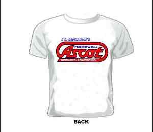 Vintage-Race-T-shirt-J-C-AGAJANIANS-ASCOT-RACEWAY-GARDENA-CALIFORNIA