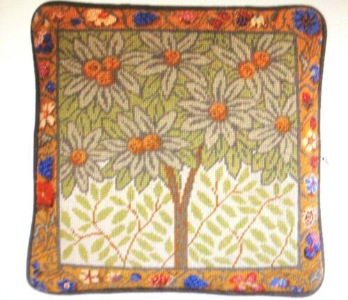 Ehrman Orange Tree Needlepoint Cushion Tapestry Candice Bahouth New Embroidery
