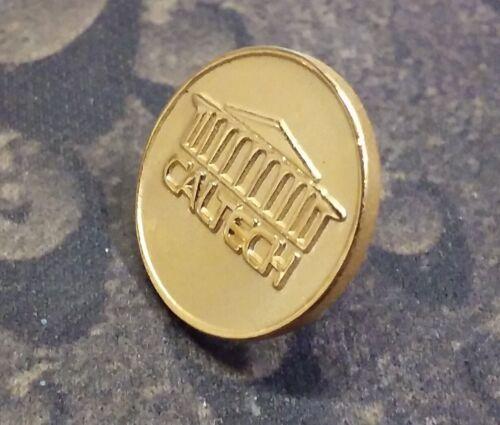 CalTech pin badge