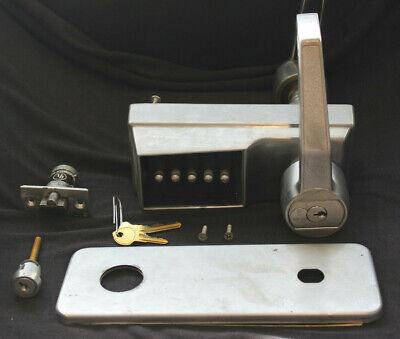 Kaba Ilco Simplex Mechanical Trim Code Satin Chrome