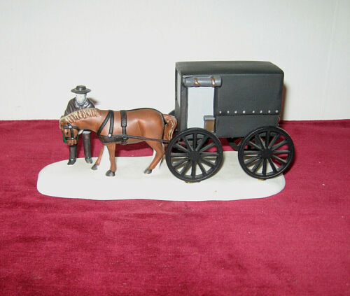 """Department 56 Heritage Village Collection """"Amish Buggy""""  #5949-8"""