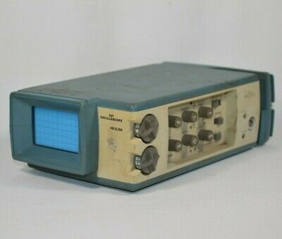 Vintage Tektronix 221 Miniscope Mini Oscilloscope As Is For Parts Or Repair
