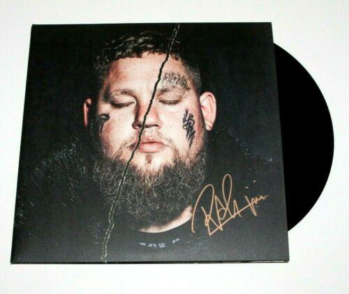 RAG'N'BONE MAN SIGNED LIFE BY MIDADVENTURE ALBUM VINYL RECORD w/COA HUMAN