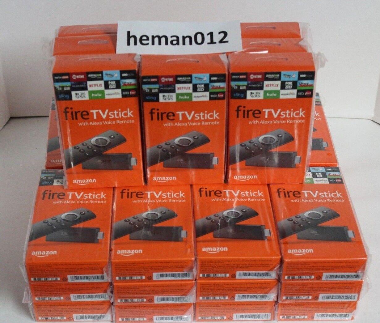 $69.97 - Amazon Fire TV Stick 2nd Gen. Kodi 17.6  & Alexa Voice Remote Firestick