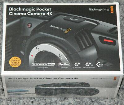 Blackmagic Pocket Cinema Kamera 4K **NEUHEIT** Sofort lieferbar vom Fachhändler ()