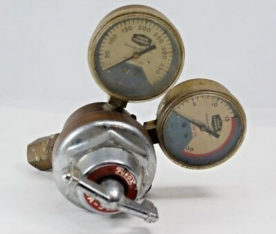 Purox Union Carbide Cga-510 Gas Regulator Steam Punk