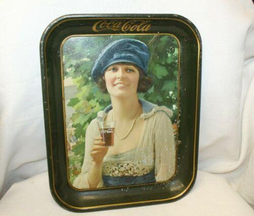 1921 Original Coca-Cola Advertising Tray