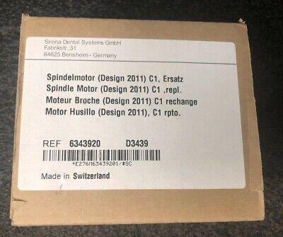 Sirona Cerec Mcxl Dental Milling Unit C1 Spindelmotor Design 2011 Ref 6343920